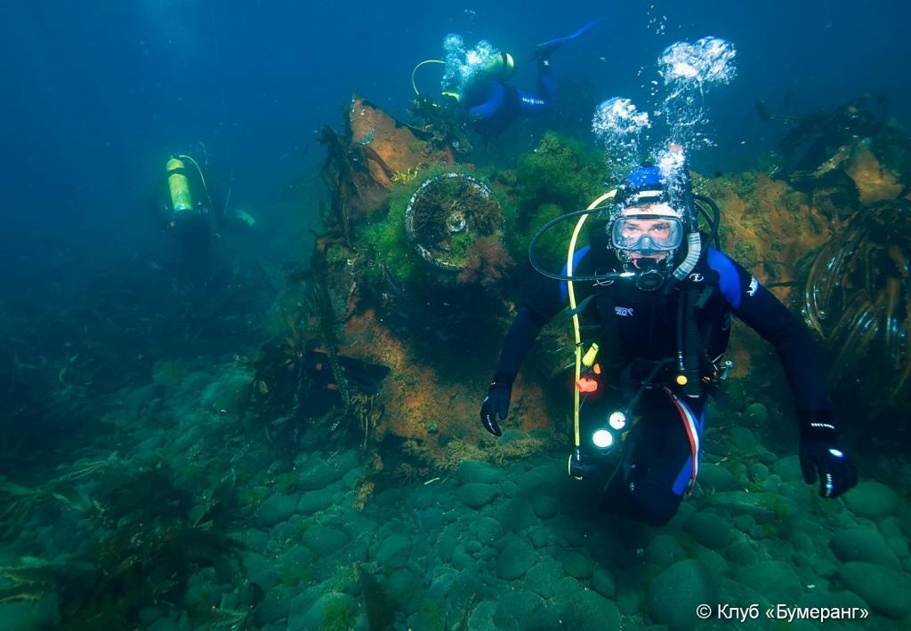 фото погружение подводной лодки